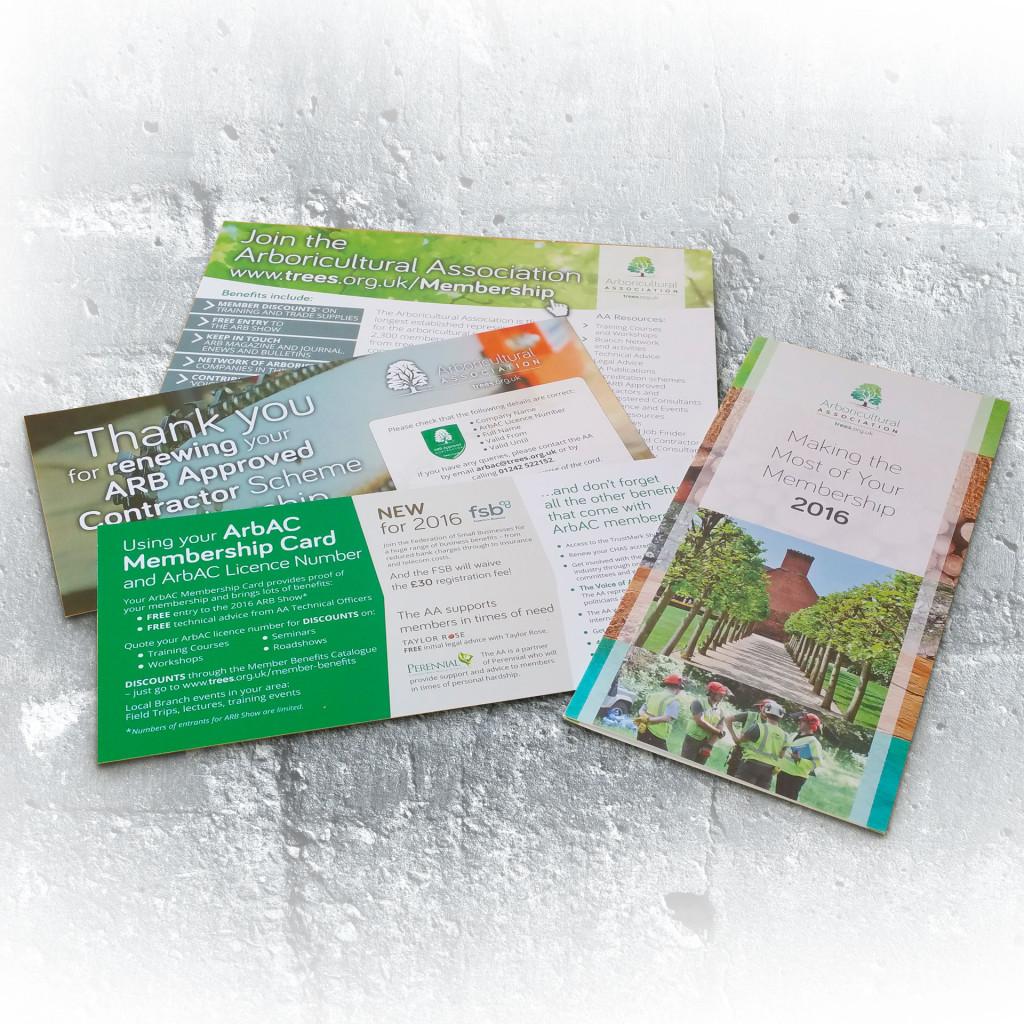 Arboricultural Association general litrature
