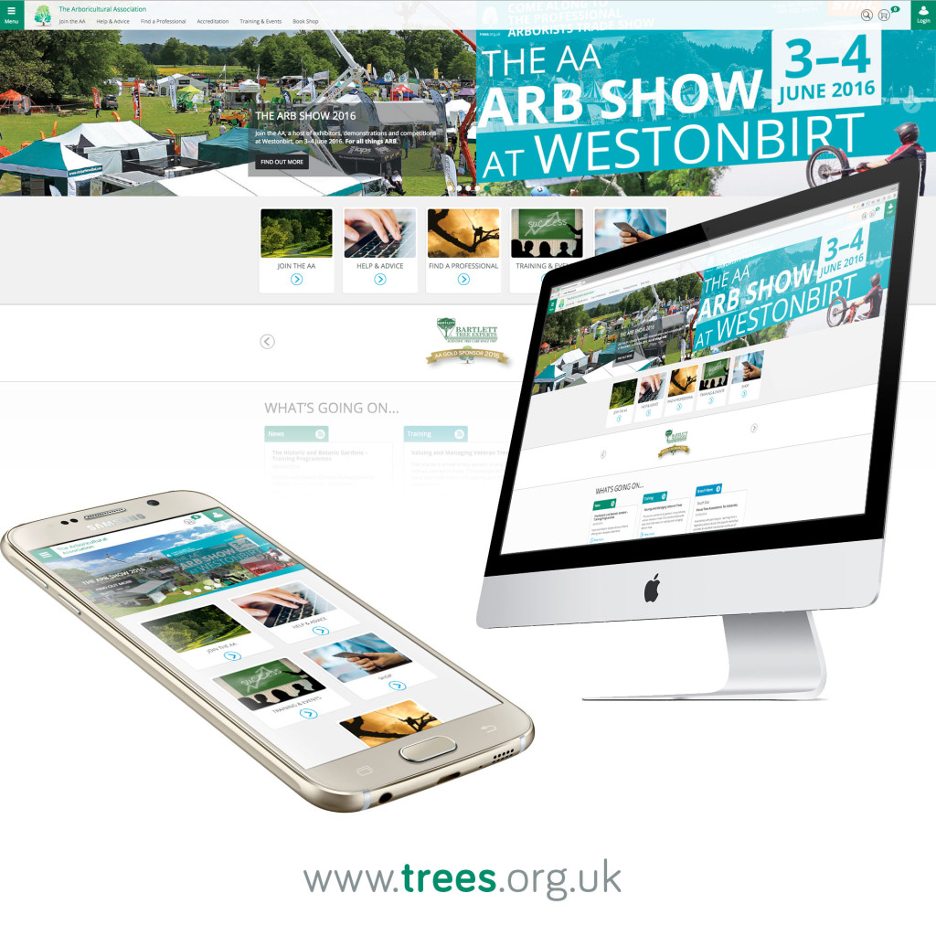 The Arboricultural Association website