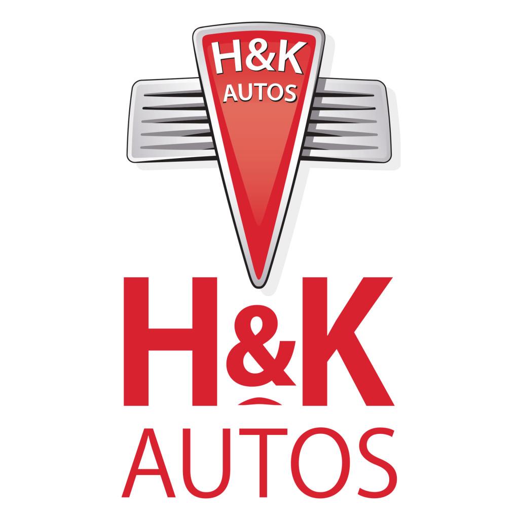 H&K Autos branding